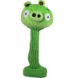 Angry Birds Green Pig Headcover at.  Buy it @ ReadyGolf.com