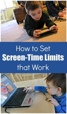 Some great tips for limiting screen time and controlling how much television your kids are watching! I know this has been a battle in our house. #parenting