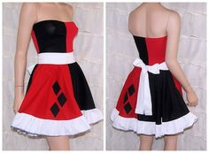 Hey, I found this really awesome Etsy listing at https://www.etsy.com/listing/185662911/harley-quinn-summer-dress-cosplay
