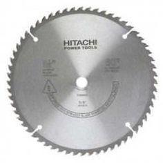 "Hitachi Tools 998862 8-1/2"""" 60T Wood Cutting Fine Finish Circular Saw Blade"