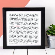 Coffee print  #coffee #homedecor #gift #coffeelover #coffeeaddict #coffeeshop #coffeeposter