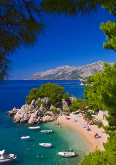 Wonderful city of Brela is a must-see on your sailing vacation in Croatia this year. Croatia Travel, Asia Travel, Visit Croatia, Hawaii Travel, Travel Destinations Beach, Places To Travel, Places To See, Holiday Destinations, Arizona Travel