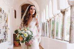 My Beautiful Bride wearing Inbal Dror -Atrani 2015
