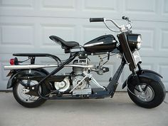 1960 Cushman Eagle Completely Restored Antique Motorcycle Classic Scooter