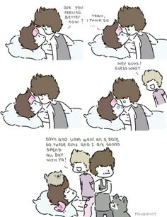 Awe Louis takes care of Hazz when he's sick