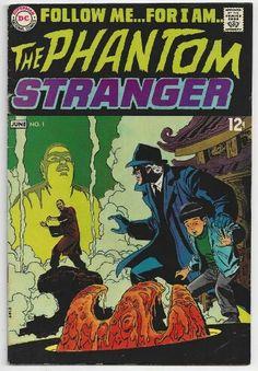 The Phantom Stranger No.1 DC Comics.