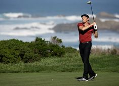 Michael Bolton Photos Photos - Musician Michael Bolton hits a shot during the third round of the AT&T Pebble Beach National Pro-Am at the Monterey Peninsula Country Club on February 14, 2015 in Pebble Beach, California. - AT&T Pebble Beach National Pro-Am - Round Three