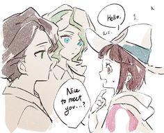 Diana , andrew y akko