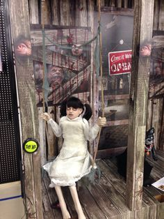 Awesome zombie props at the Halloween store near me. | Zombies ...