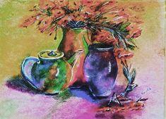 Csendélet. Porpasztell, 30x40cm. Painting, Art, Art Background, Painting Art, Kunst, Paintings, Gcse Art
