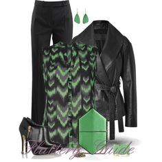 A fashion look from November 2014 featuring Donna Karan jackets, Michael Kors pants and MICHAEL Michael Kors ankle booties. Browse and shop related looks.