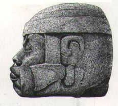 Image result for pictures of olmec stone heads