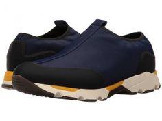 MARNI Pull-On Neoprene Sneaker (Blue/Black) Men's Shoes