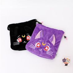 Mori Girl Wallet on Mori Girl の森ガール.Mori Cute Anime Moon Kitty Wallet Adorable Plush Purse Wearing it out will be a eye-catching focus in the street .It perfect for most of occasions.Make sure you add these to your closet,it is a must have.