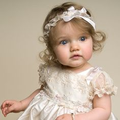 Our Jessica Christening Gown is a beautiful gown for your baby. At ChristeningGowns.com we specialize in cute dresses and gowns for christenings, baptisms, and holidays.