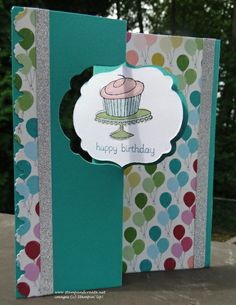Thinlits Card Die - Birthday (front)