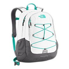 The North Face Backpack Black and Mint