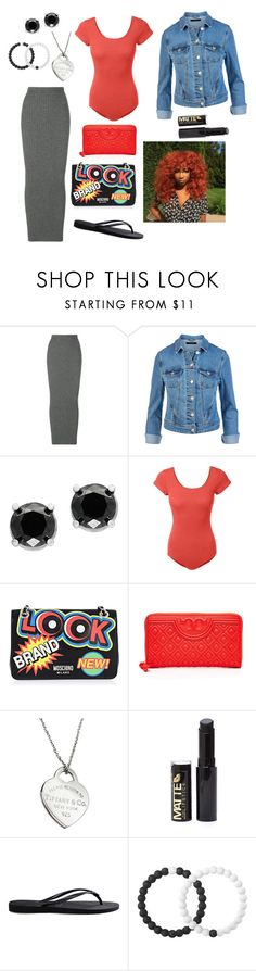 """I could see it all."" by bunnisexy ❤ liked on Polyvore featuring Haider Ackermann, Effy Jewelry, LE3NO, Moschino, Tory Burch, Tiffany & Co., Havaianas and Lokai"