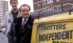 Only Fools and Horses never gets old lol - Del Boy (David Jason) and Rodney (Nicholas Lyndhurst) - the best! British Tv Comedies, Classic Comedies, British Comedy, Comedy Tv Shows, Comedy Show, Bristol, Rhyming Slang, David Jason, Classic Campers