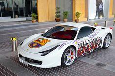 Ferrari 458 Italia FC Barcelona edtion by ///amg87 on Flickr.