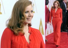 Amy Adams: Red Hot at 2014 Academy Awards Nominees Luncheon | GossipCenter - Entertainment News Leaders