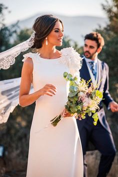 Wedding Photography Styles, Wedding Styles, Glam Dresses, Vintage Dresses, Wedding Bells, Wedding Gowns, Gowns Of Elegance, Wedding Hair And Makeup, Bride Hairstyles