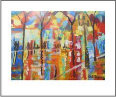landscapes by dot dixon Color Of Life, Landscapes, Dots, Colour, Painting, Stitches, Paisajes, Color, Painting Art