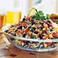 Salade de riz aux haricots rouges | Délices du Monde