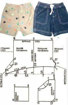 Sewing patterns shorts dresses 68 New ideas Kids Dress Patterns, Baby Clothes Patterns, Clothing Patterns, Sewing Baby Clothes, Baby Sewing, Diy Clothes, Summer Clothes, Costura Fashion, Short Niña