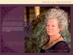 Pride and Prejudice 2005  - online companion - Lady Catherine de bourgh - Dame Judi Dench - Page 19