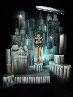 "Lady Gaga by David Lachapelle ""Metropolis"" David Lachapelle, Lady Gaga 2009, Fritz Lang, Editorial Photography, Photography Music, Fashion Photography, Great Photographers, Pop Surrealism, Studio Portraits"