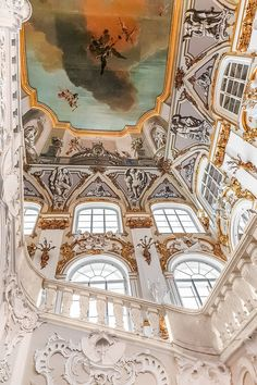 The Jordan Staircase of the Winter Palace and the State Hermitage Museum, St. Petersburg, Russia Russia | Hermitage Museum