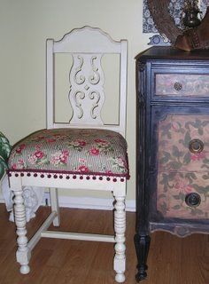 Jennifer D. Rizzo Designs: hand painted furniture