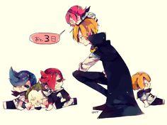One Piece, Vinsmoke family, Reiju, Ichiji, Niji, Sanji, Yonji