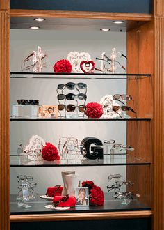 Valentine Day Display by  Fashion Optical