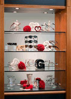 Valentine Day Display by  Fashion Optical