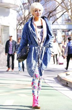 Harajuku street fashion | ...