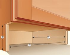 Family Handman how to add drawers under the cabinets  http://www.familyhandyman.com/video/device/mobile/t/57560800/how-to-build-under-cabinet-drawers-increase-kitchen-storage.htm?m_n=true#.UTg8ZPeXvhU