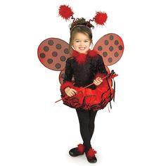 Ladybug Girls Costume, gathering ideas for next costume... my little one says she wants to be a ladybug. Like the headband on this