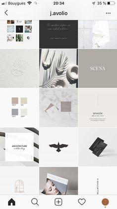 Instagram Feed, Instagram Design, Instagram Layouts, Instagram Posts, White Instagram Theme, Social Media Design, Layout Design, Branding Design, Neutral Colors
