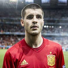 Álvaro Morata, Spain. Euro 2016