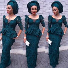 Stylish Aso Ebi Styles for Party http://www.dezangozone.com/2016/06/stylish-aso-ebi-styles-for-party.html