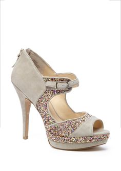 taupe/clover sling enzo angiolini