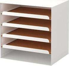 IKEA , Kvissle Letter tray White, Desk Organisers