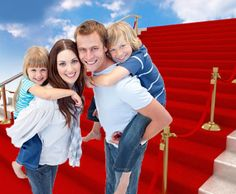We roll out the red carpet for your family!  Professional nannies available for Hotel In Room Nanny Service in Las Vegas.