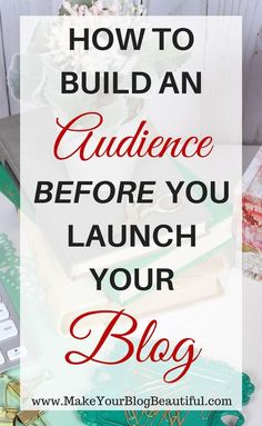 """Wait, you can do that? Yes! Okay, so you want to get your blog started. You are waiting to launch it to the world because you feel like you have to fill it up with great content first, right? You might be saying to yourself, """"I'll launch my blog once I have more posts."""" """"I …"""