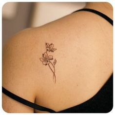 81 small, meaningful tattoos for women for permanent and temporary tattoos . - 81 small, meaningful tattoos for women for permanent and temporary tattoos # meaningful - Meaningful Tattoos For Women, Tattoos For Women Small, Small Tattoos, Small Lily Tattoo, Pretty Tattoos For Women, Ankle Tattoo Small, Orchid Flower Tattoos, Daffodil Tattoo, Tattoo Flowers