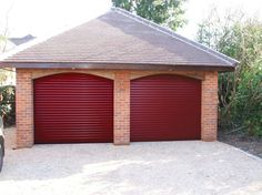 SWR Red Roller Shutters.