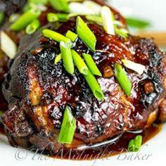 Slow Cooker Chicken Teryaki Recipe - The Midnight Baker & ZipList