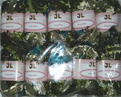 10 sk Fringe Ribbon Angelika Yarn NEWEST Color 805 by JuliaLCraft, $32.00